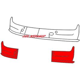 Set de 2 coins gauche et droit intérieur sous le pare brise pour combi