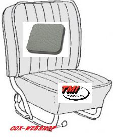 Kit housse de sièges avant et arrière gris clair en simili-cuir lisse
