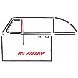 Joint vertical arrière de déflecteur <-7/64