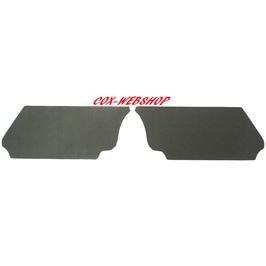 Set de 2 cartons noirs sous banquette arrière pour cox cabriolet de 60->64