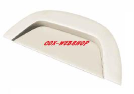 Plage arrière en vinyl lisse pour coccinelle (pré-percée pour enceinte)