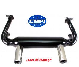 échappement Empi 2 TIP pour 1300/1500/1600cc