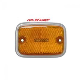 Glace orange de réflecteur avant avec pied gris pour T2B de 70->79