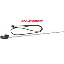 Antenne de joue d'aile 1400mm pied noir toutes années