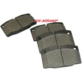 Set de 4 plaquettes de freins pour kits CSP