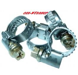 Collier de serrage tuyau d'essence de 5 à 8mm de diamètre