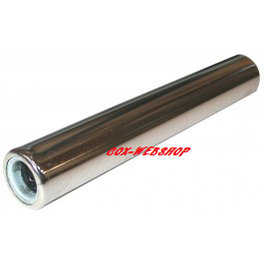 tube silencieux chromé 250 mm