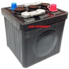 """batterie 6 Volts 66Ah """"style origine"""" (livrée sans acide)"""