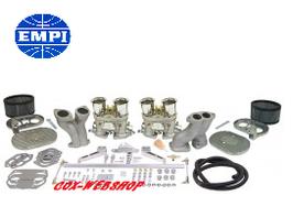 Kit luxe carburateurs HPMX (avec pipes, filtres avec platines alu, tringlerie élaborée et cornets)
