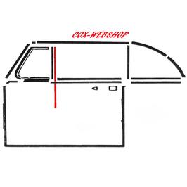 Guide vitre petit modèle gauche ou droit pour coccinelle cabriolet de 52->64   (R)