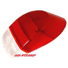 Glace de feu arrière rouge 1300 8/67->7/73 et 1302 (sans marquage CE)
