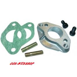 kit entretoise d'installation de carburateur 30/31 sur tubulure de 34mm