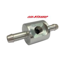 Adaptateur en aluminium de mano de pression d'essence réf U120552 pour raccords en 8mm