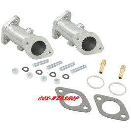 Set de 2 pipes simple admission pour carbus ICT et EPC