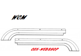 Set de 2 guides de câble de toit ouvrant gauche et droit 64->77 sauf 1303