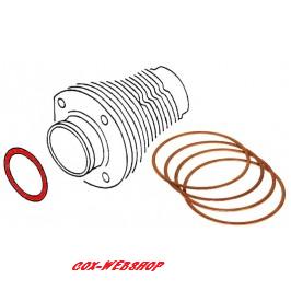 Kit 4 cales sur cylindre (entre cylindre et culasse) en cuivre diam 92mm