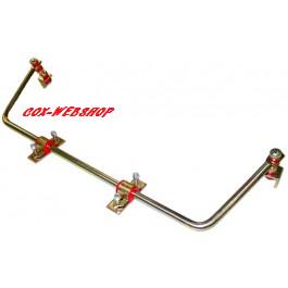 Barre stabilisatrice arrière pour cox à trompettes