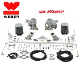 kit complet carburateurs WEBER 34 ICT pour moteur S/A