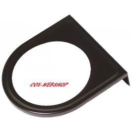 Support de manomètre sous tableau de bord noir de diamètre 52mm