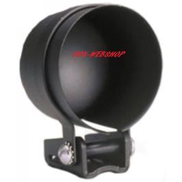 Pied de montage de manomètre diamètre 67mm noir