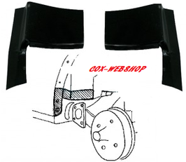 Coin de passage de roue arrière coccinelle tous modèles