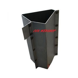 Tôle de réparation en bas du montant de porte (pilier A) pour combi split <-67