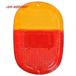 Vitre de feu arrière pour combi split de 8/62->67 EUROPE rouge/orange