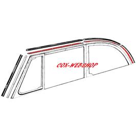 Set de 8 inserts aluminium pour joints de capotage latéraux de 50->64