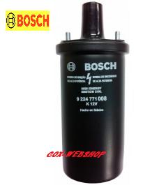 Bobine noire d'allumage 12 V Bosch à bain d'huile