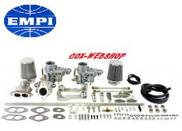 kit complet carburateurs EMPI 34 EPC pour moteur D/A