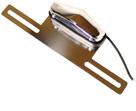 Eclairage de plaque chromé pour buggy