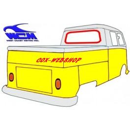 joint de vitre arrière pour combi split en cabine simple et/ou cabine