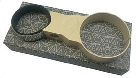 Fixation de manomètre diamètre 52mm sur colonne de direction diam. 40mm couleur ivoire