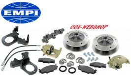 kit frein à disques avant 5x205 pr rotules 08/65->07/68 complet avec maitre cylindre et flexibles