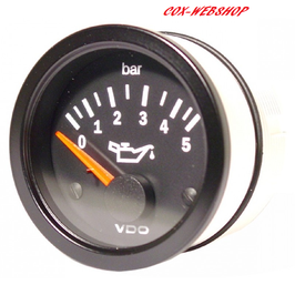 Manomètre de pression d'huile VDO