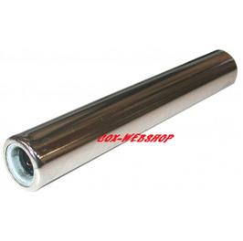 tube silencieux chromé 225 mm