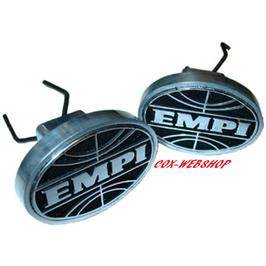 Set de 2 caches trous de cric siglés EMPI pour combi split