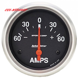 Ampèremètre diamètre 67mm 60-0-60 ampères