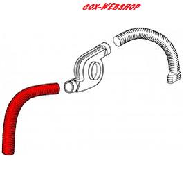 gaine de chauffage gauche pour moteur T4