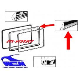 joint de vitre latérale pop out intérieur pour combi split de 50->67