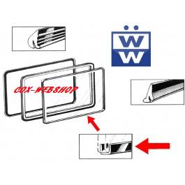 joint de vitre latérale pop out entre cadre et vitre pour combi split de 50->67