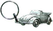 porte-clés relief coccinelle cabriolet