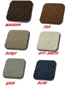 kit housse de siège en simili cuir téssé pour cox de 70->72