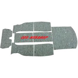 kit isolation moquette intérieure cox tous modèles