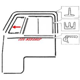 Joint de déflecteur pour combi split de 52->67