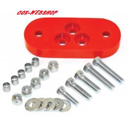 Silentbloc uréthane d'adaptation de boite 7/71-> sur chassis <-7/71