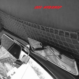 filet porte-paquets de toit gris (au-dessus des places avant) cox