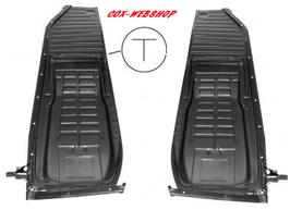 Demi-plancher complet cox 1200 70->72 (rail en T)
