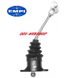 """levier de vitesse chromé «poignée en T» longueur 12"""" siglé EMPI (bouton de marche arrière sur le côté)"""
