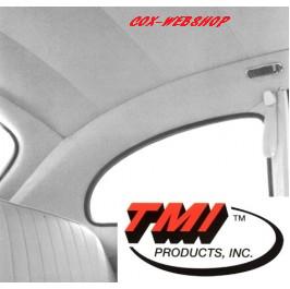 Ciel de toit en vinyl perforé blanc pour coccinelle